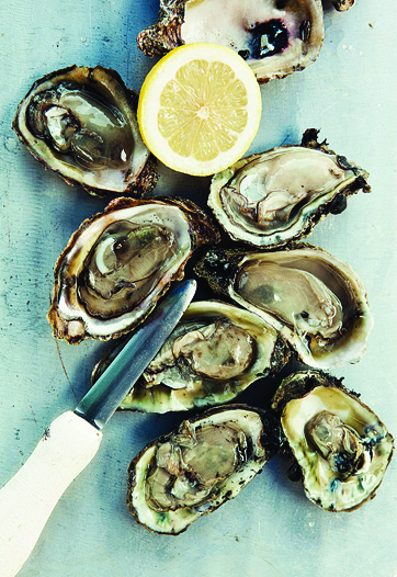 Oysters...Raw or Steamed (12)