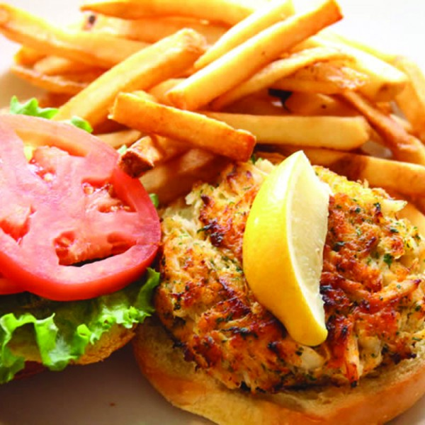 Old Bay Chips Crab Cakes
